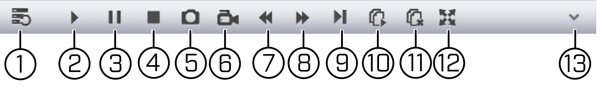 Playback controls